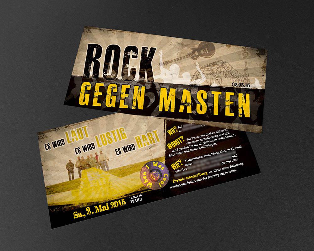 Rock gegen Masten